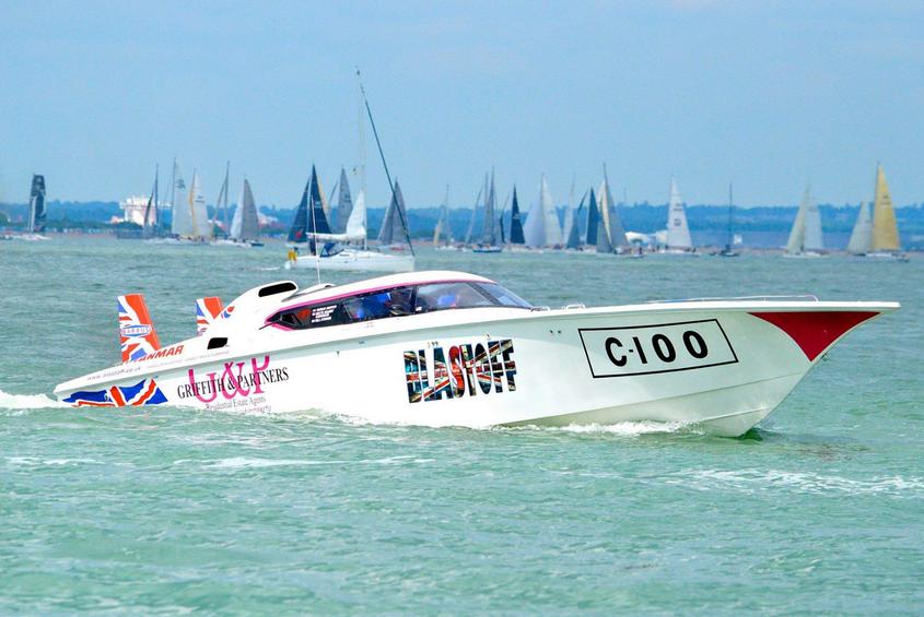 Blastoff Racing in The Solent