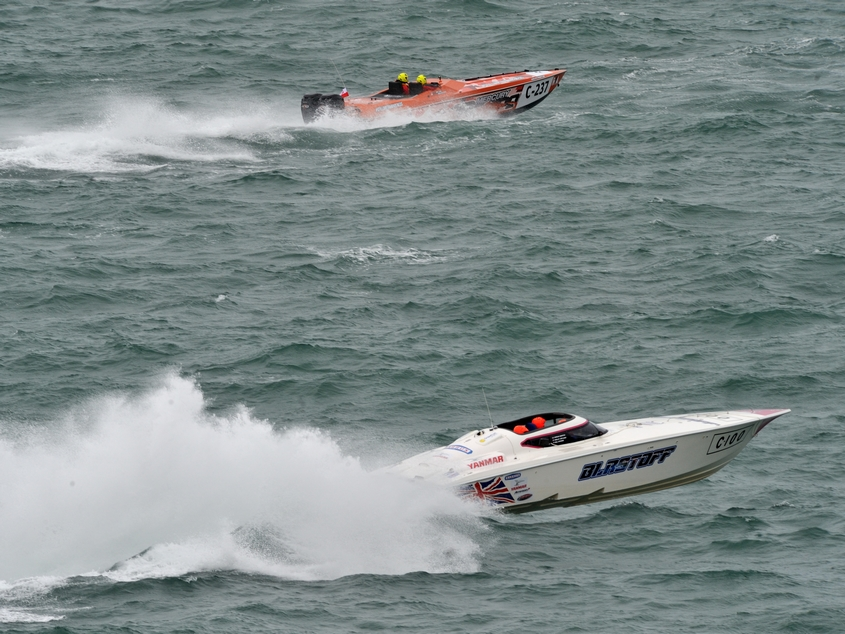 Blastoff taking the Runners Up spot in the 2016 Cowes Torquay Cowes race Photo: Chris Davies